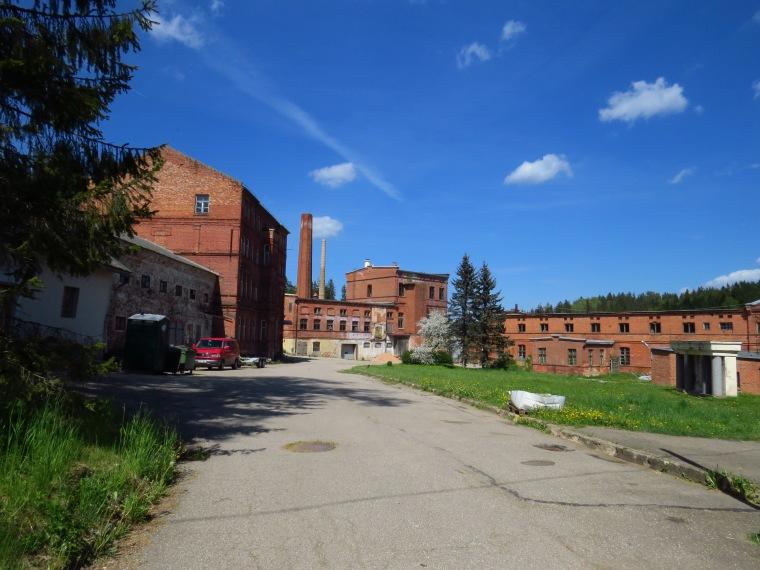 usine papier Ligatne Lettonie