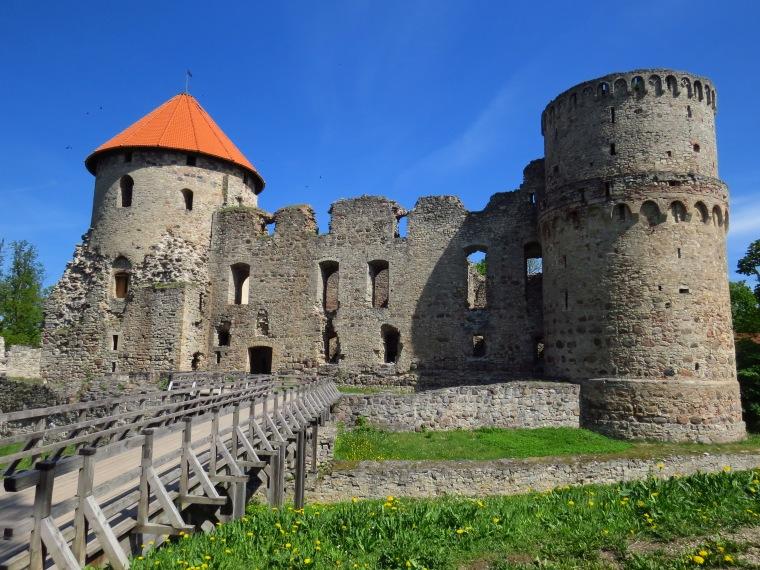 Chateau de Césis Etats Baltes