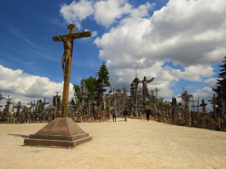 Lituanie insolite colline des croix