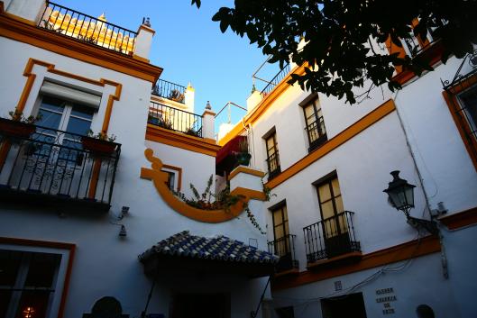 Le barrio de Santa Cruz Séville