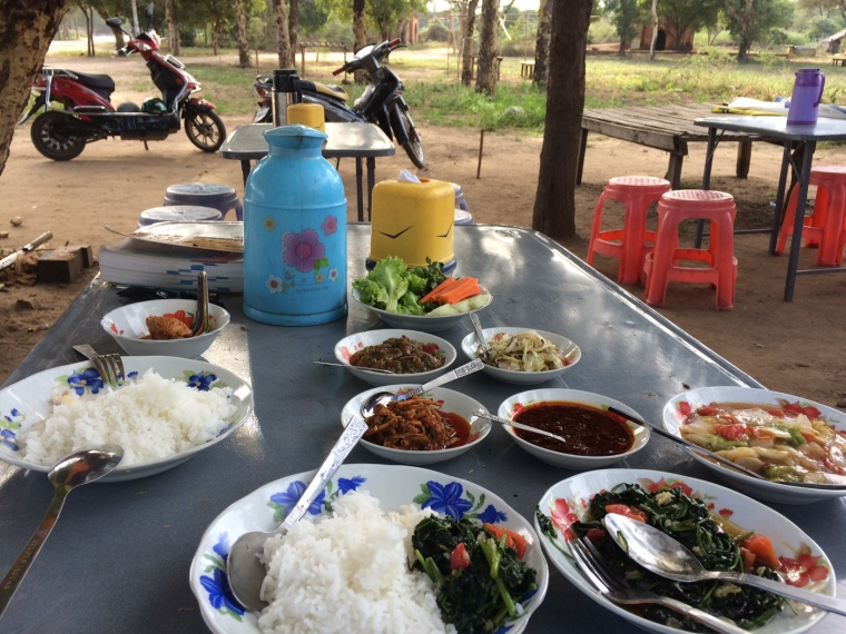 Street food birmane