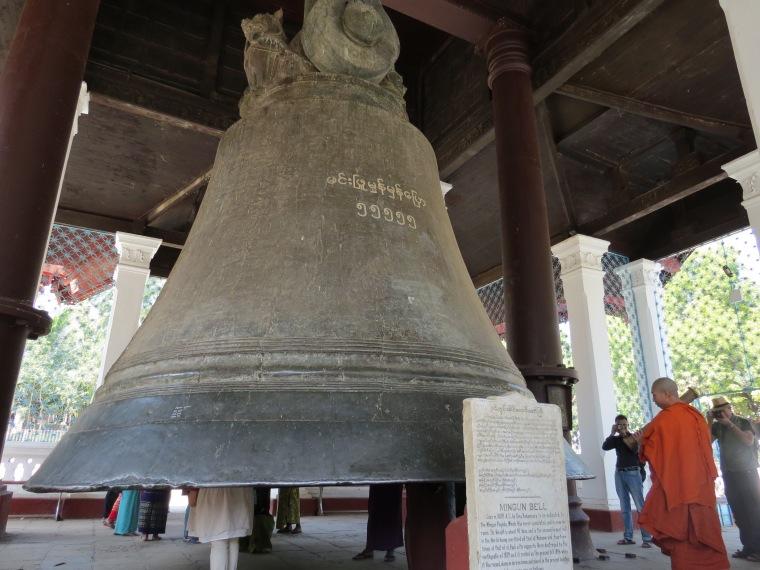 La cloche de Mingun