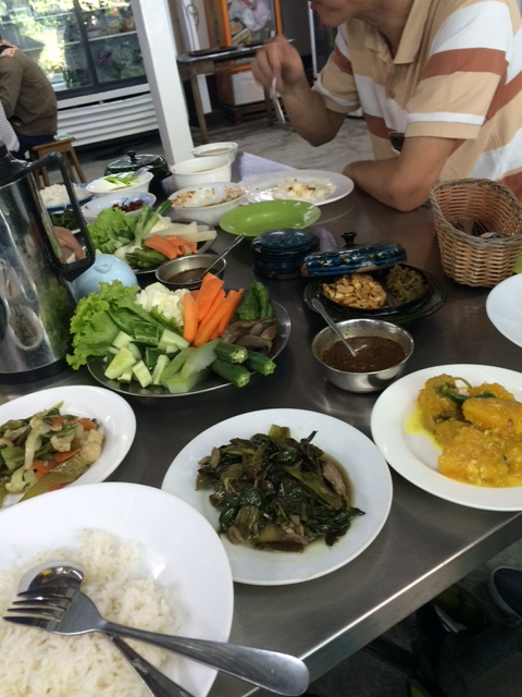 Aug Thuka cuisine birmane Yangon