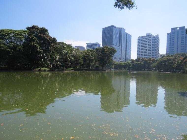parc de Lumphini Bangkok varans