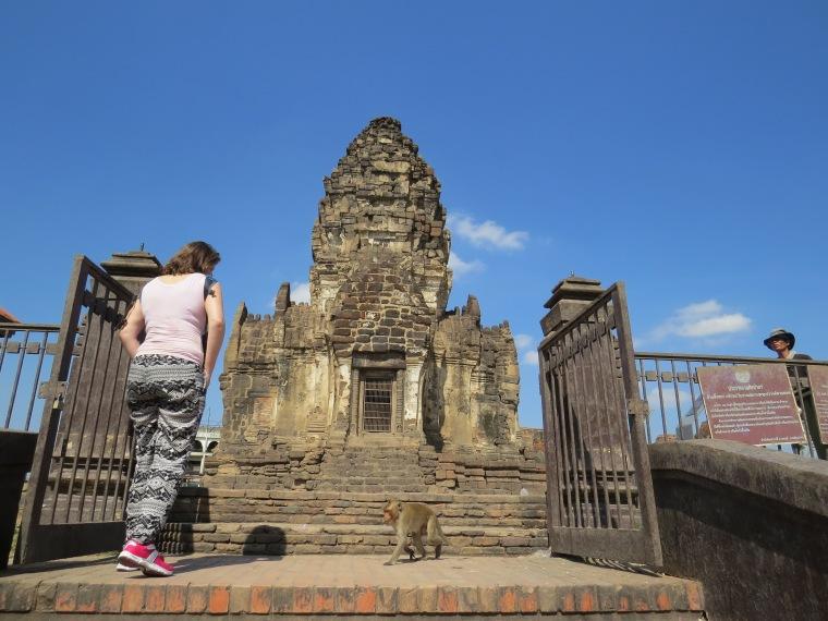 Lopburi la ville des singes Thailande