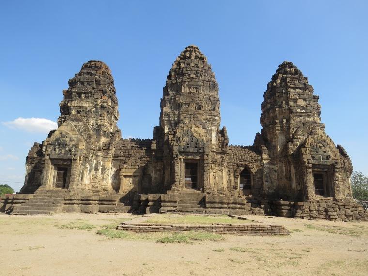 Phra Prang Sam Yot (monkey temple) Lopburi