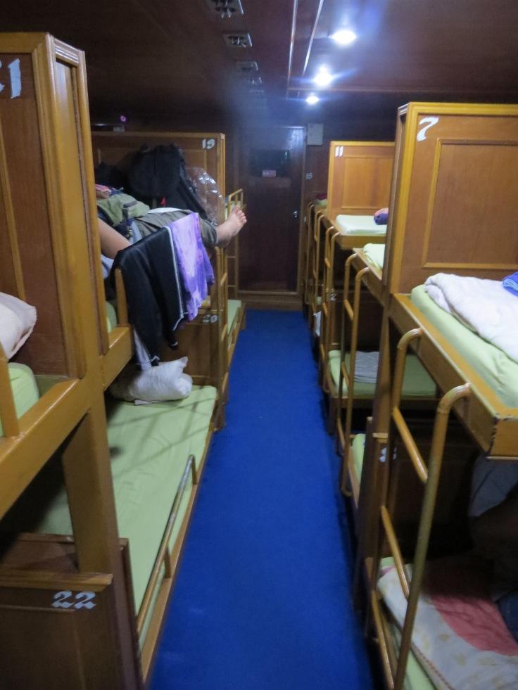 Night boat de Koh Tao à Surat Thani