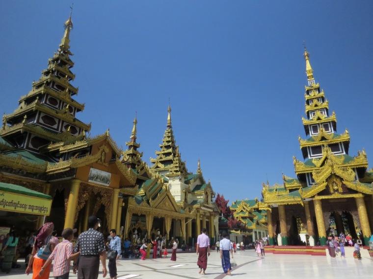 Paya Shwedagon Yangon visite