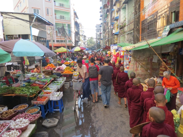 Ville Yangon Birmanie