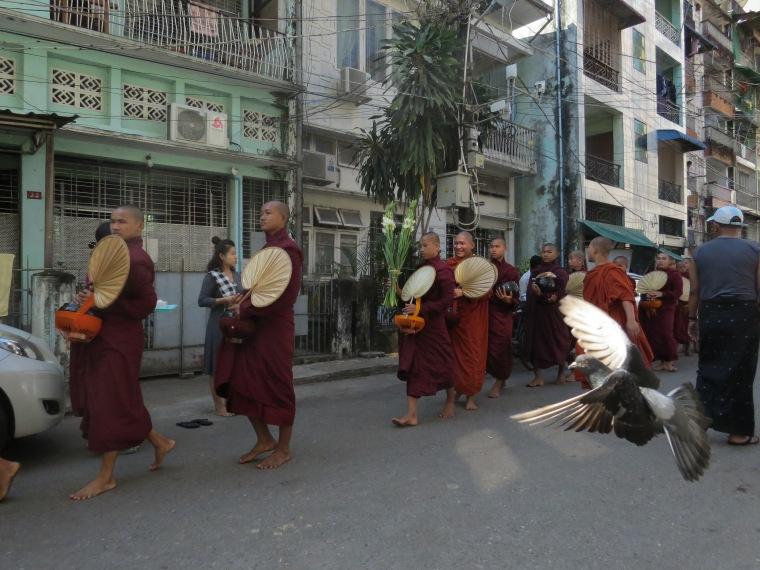 Yangon ancienne capitale Birmanie