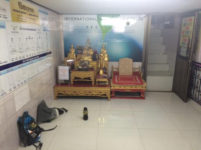 Cours de méditation au Wat Mahathat