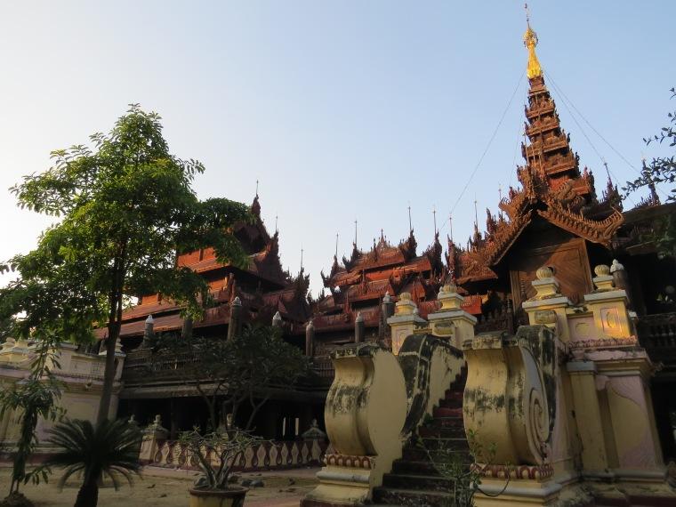 monastère de Kyaung Shwe In Bin Mandalay