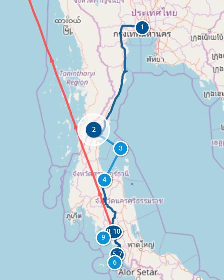 Itinéraire 18 jours îls thailande