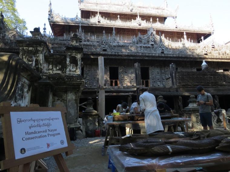 Kiang Shwenandow Mandalay billet combiné