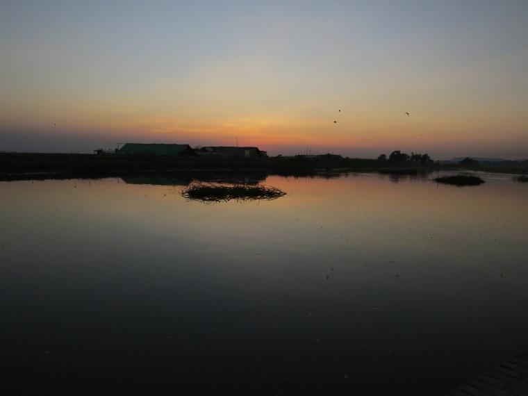 Pont U bein sunset Birmanie
