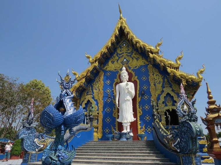 Le temple bleu Chiang Rai
