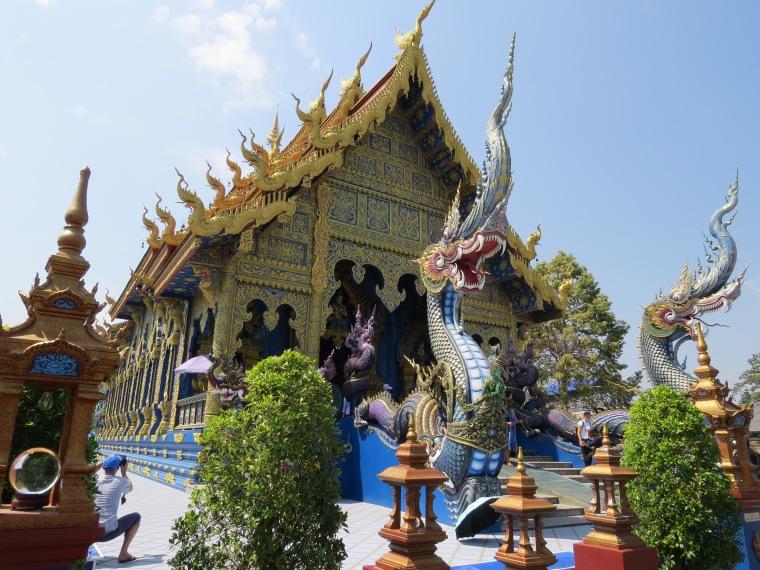 Temple bleu Chiang Rai Thailande