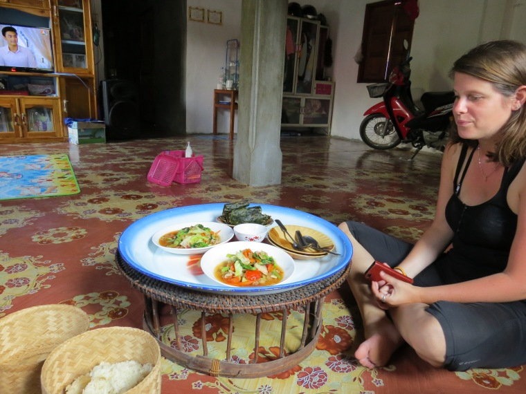 Fasay Garden repas Laos
