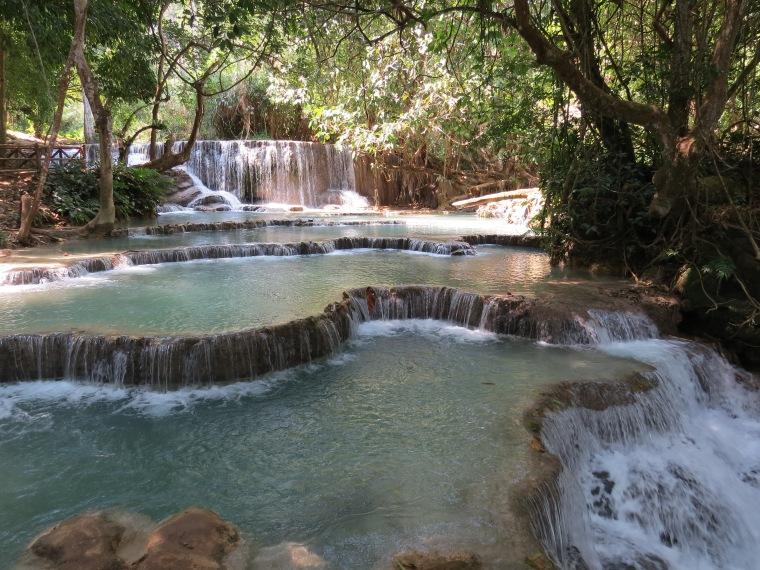 Tat Kuang Si Waterfalls Luang Prabang