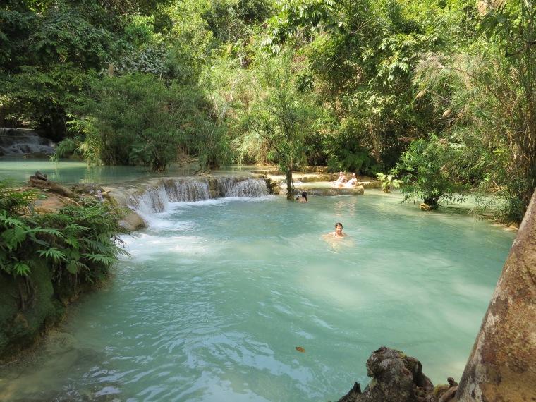 baignade cascades Luang Prabang