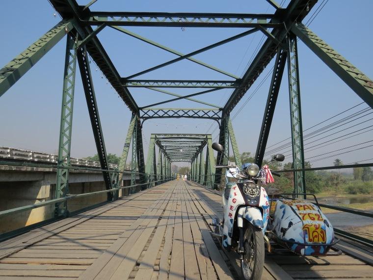 Memorial bridge Pai Thailande