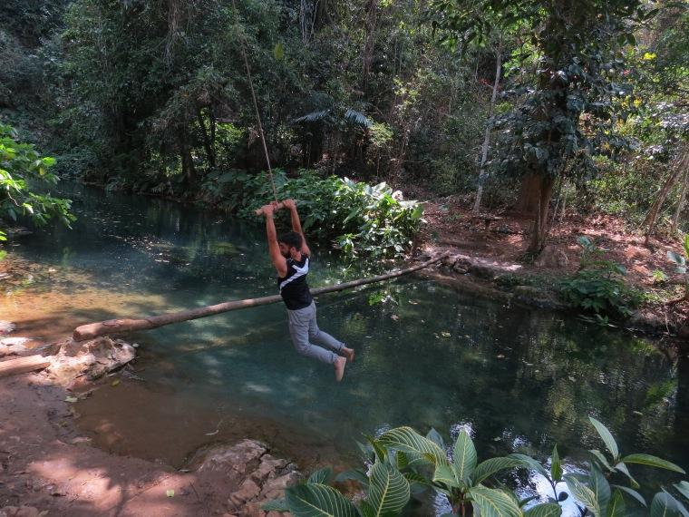 Springs water Laos Lunag Prabang