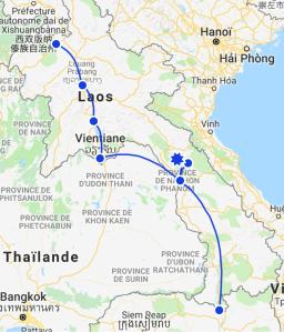 Idée itinéraire Laos 3 semaines