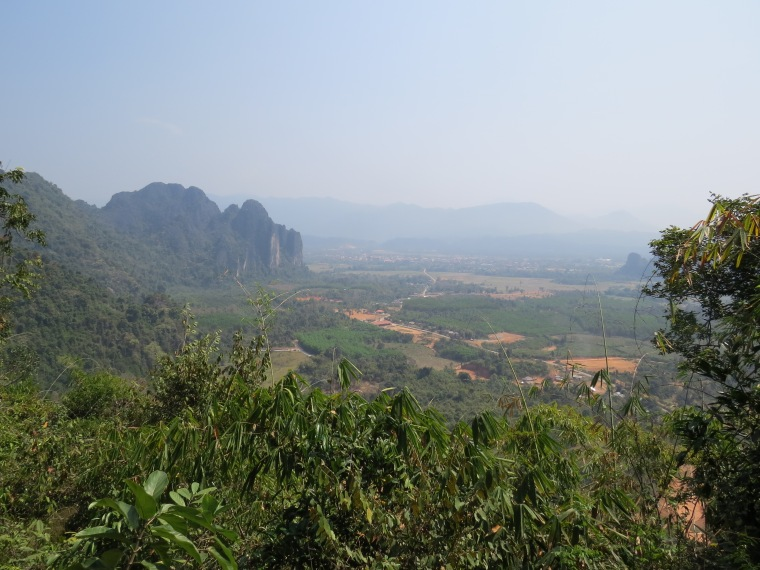 Point de vue Vang Vieng Laos