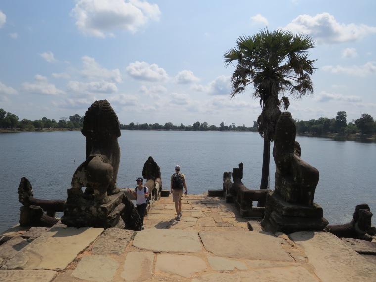 Bain royal de Sra Sang Temples Anghkor