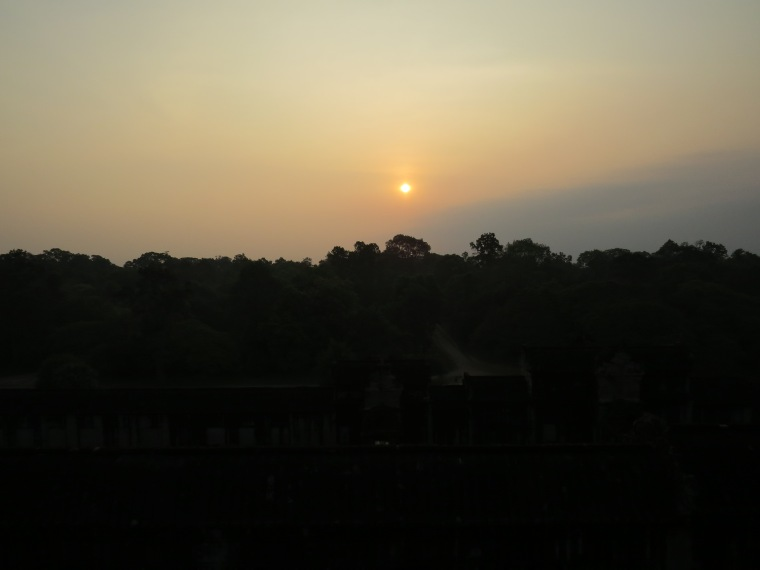 Lever de soleil  Angkor Wat