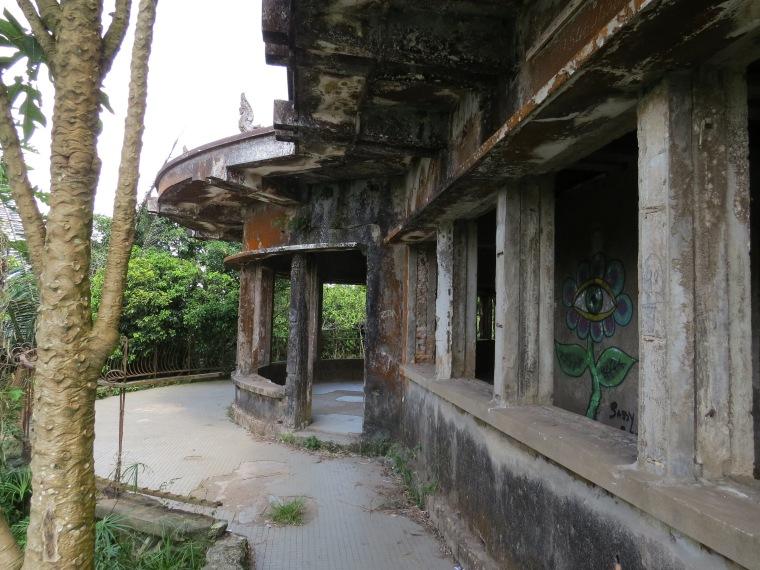 Palais noir Bokor Kampot