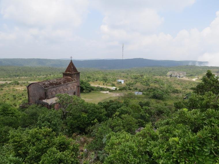 Ancienne église urbex Bokor