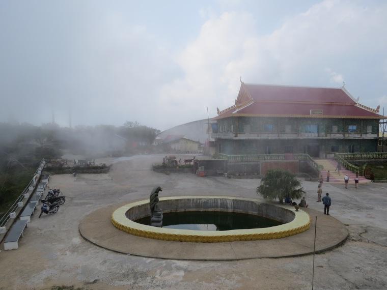 Parc National du Bokor brume