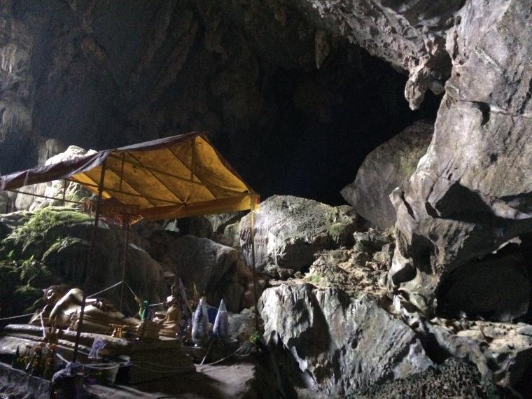 Grotte blue lagon Vang Vieng