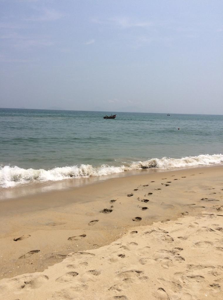 Belles plages Hoi An Vietnam