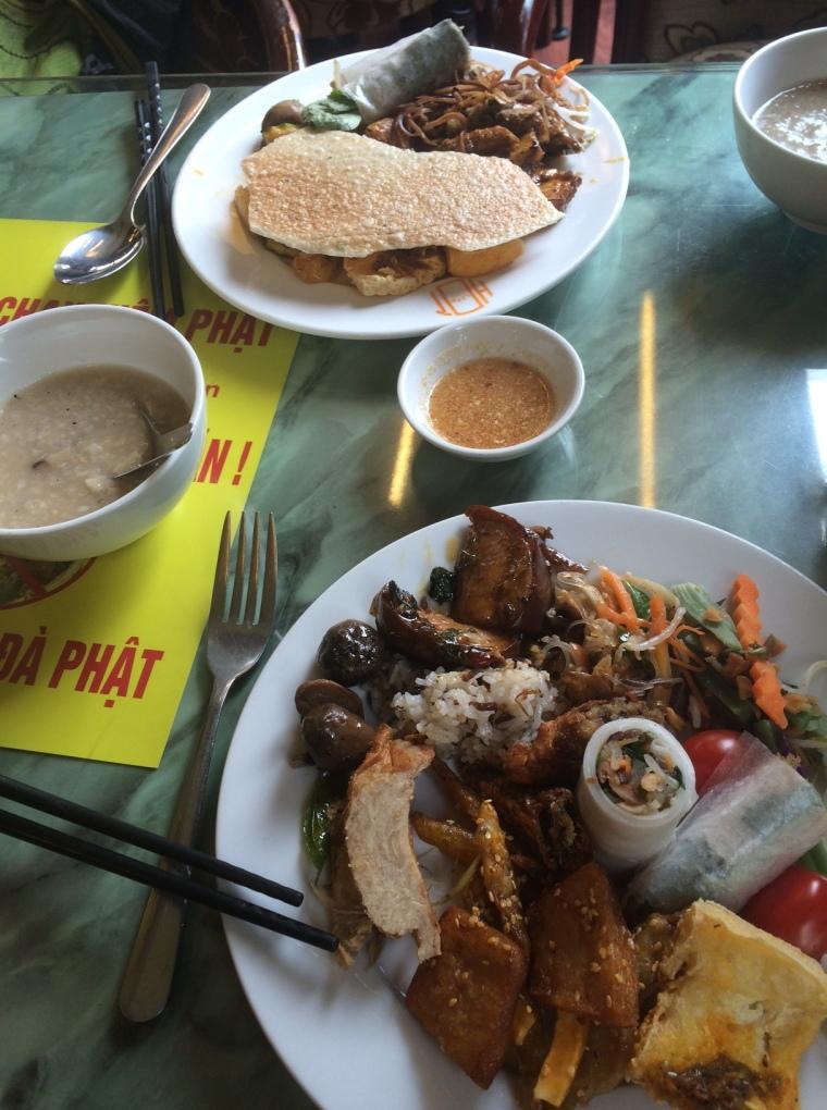 Bo de Chay restaurant végan à volonté Hanoi