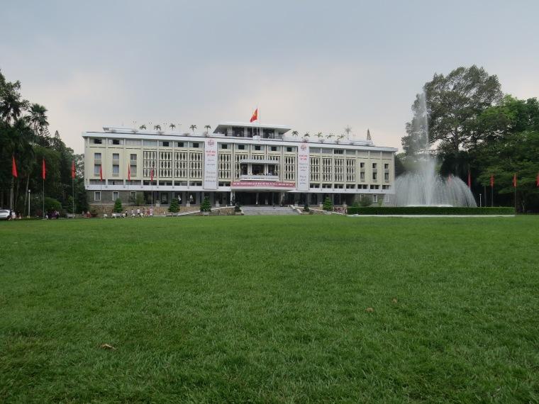HCM ville Palais de la réunification