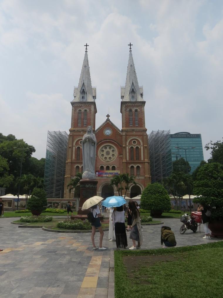 Ho Chi Minh cathédrale Notre dame