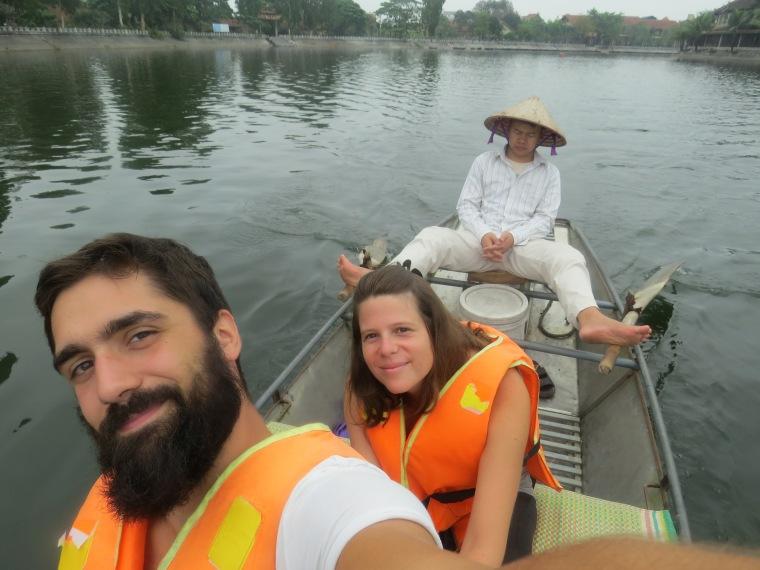 Ballade en bateau Tam Coc