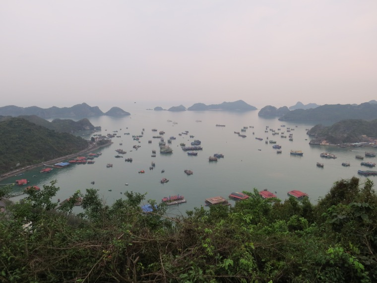 Le Cannon fort Cat Ba Vietnam