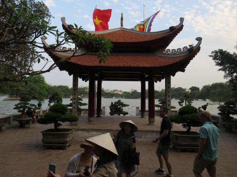 Temple sur le lac Hanoi