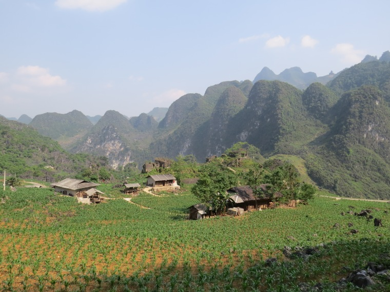 boucle d'Ha giang Nord Vietnam