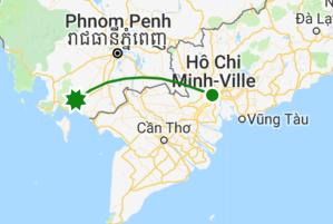 Itinéraire Cambodge vietnam