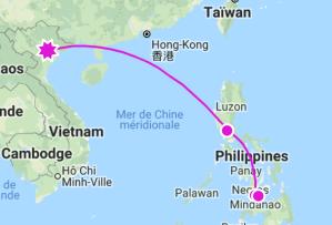 Hanoi à Siquijor comment y aller
