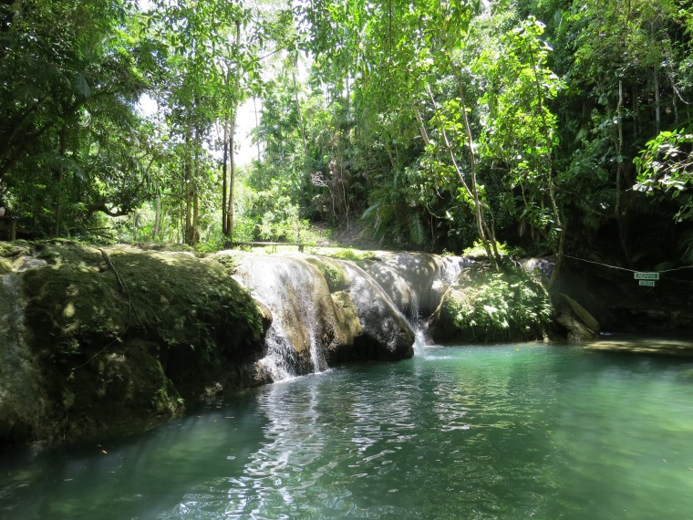 Lagaan Waterfalls : Siquijor