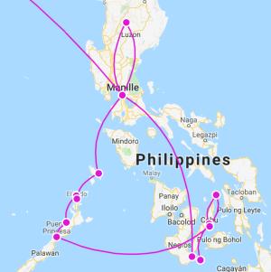 Itinéraire 1 mois Philippines