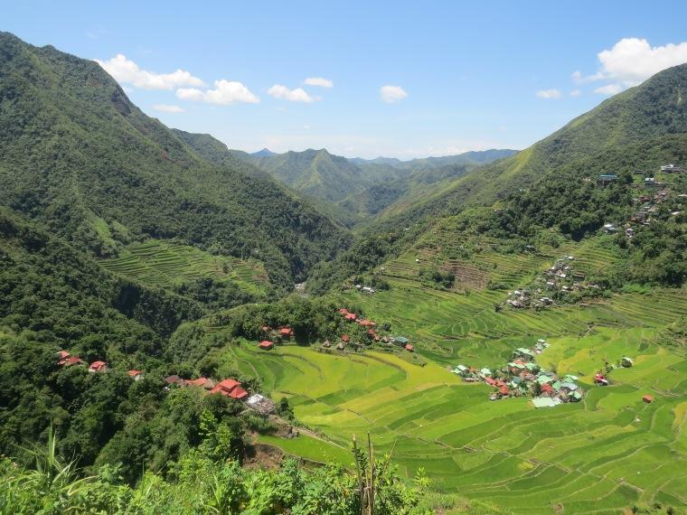 Vue rizières Batad