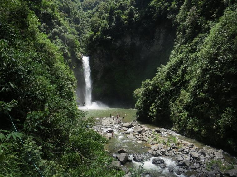 La cascade de Tappyah Batad