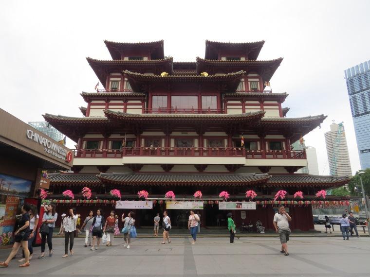 Singapour Chinatown temple bouddhiste