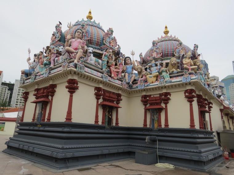 plus vieux temple hindouiste Singapour